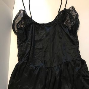 Other - Black lace babydoll lingerie